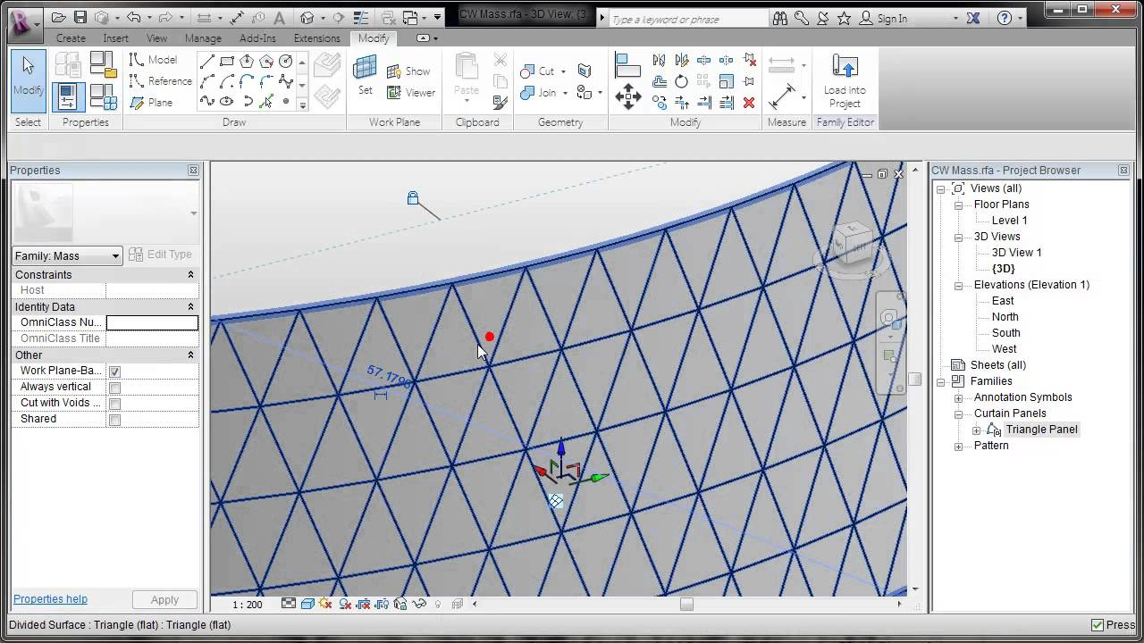 Revit Pattern Based Curtain Walls Youtube