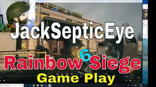 JackSepticEye Plays Rainbow Six Seige Puppet Comedy