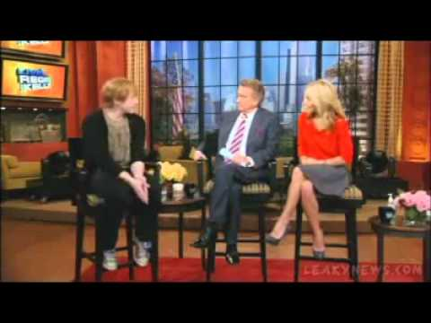 Rupert Grint talks about his ice cream van on Regis and Kelly.