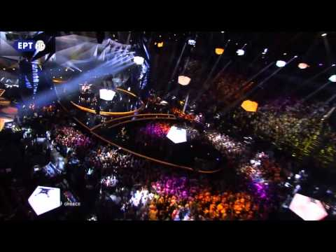 Eurovision 2013 Semifinal Greece  Koza Mostra & Agathon Iakovidis - Alcohol Is Free - HD