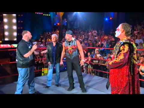 Sting Unveils the New World Title Belt