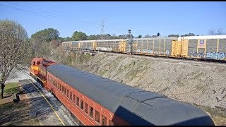 Chattanooga, Tennessee USA (TVRM) - Virtual Railfan LIVE
