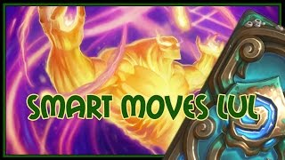 Hearthstone: Smart moves LUL (control priest)