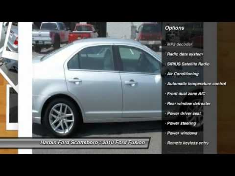 2010 Ford Fusion Scottsboro AL 7C010I