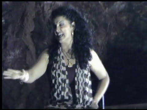 Tangos Canta Rocío Segura en el interior de la Mina Agrupa Vicenta