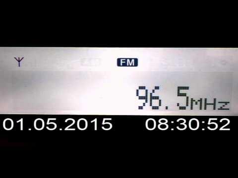 DX FM 96.5 Mhz Bum Radio Boljevac Serbia in Craiova Romania 158 km