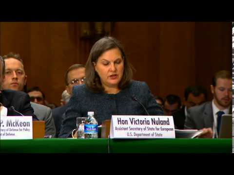 Nuland: 'America's investment in Ukraine'. 10 March 2015