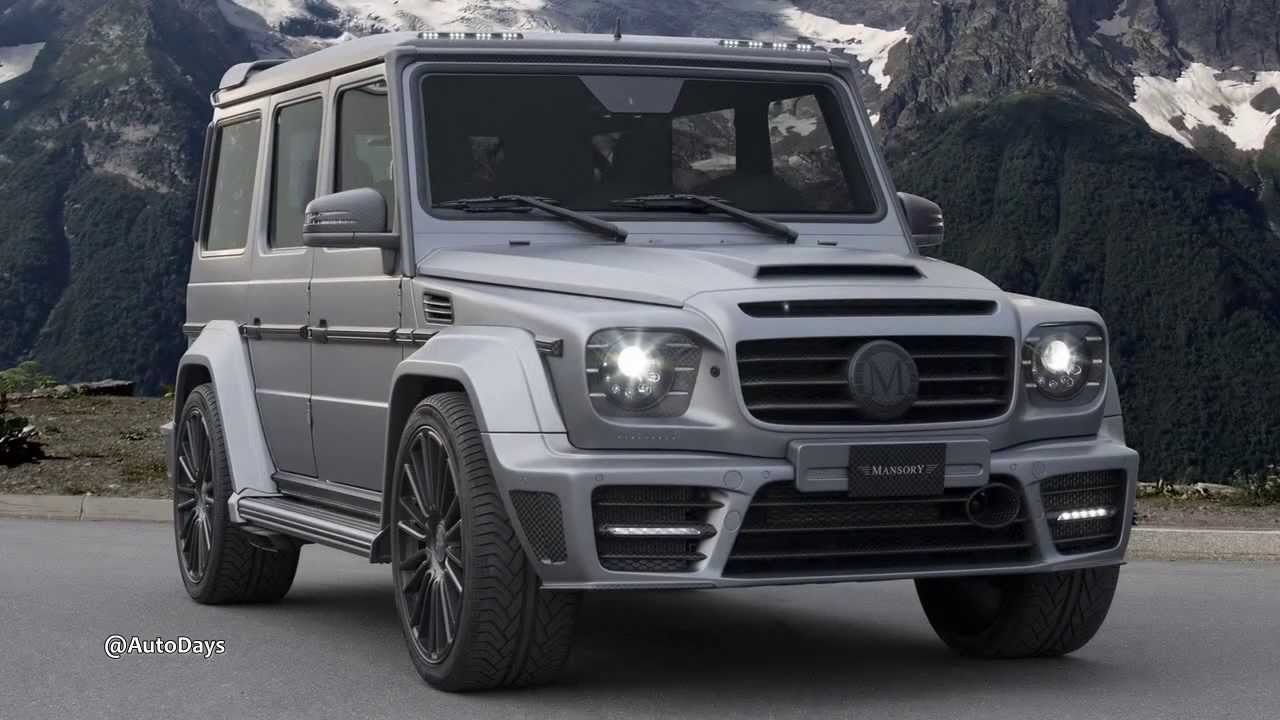 2014 Mansory Mercedes Benz G Class AMG Gronos - YouTube