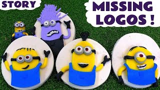 Minions Stolen Play-Doh Logos Stop Motion Toy Story - Despicable Me fun for kids and children TT4U