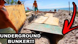 BUILDING A GIANT UNDERGROUND BUNKER MANSION!! (Digging For 24 Hours Straight) Day 5 | JOOGSQUAD PPJT