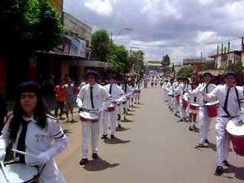 Colegio Nacional de E.M.D. Dr. Pedro P. Peña - Desfile Estudiantil 7 Octubre 2008 -1