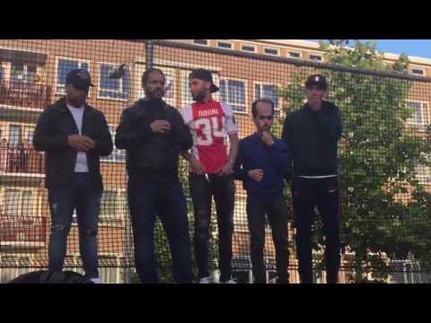 Indrukwekkend gebed voor Abdelhak Nouri