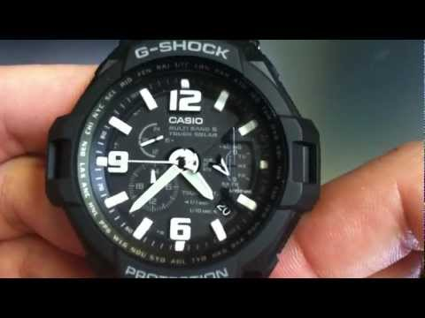 Casio G-Shock Aviator Solar Atomic Watch GW4000D-1A