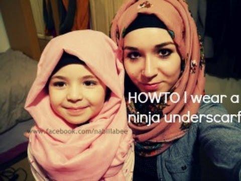 HOWTO wear a Ninja underscarf - YouTube