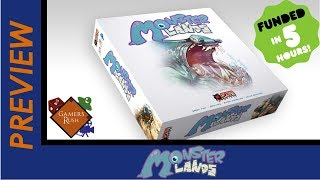 Tabletop Preview - Monster Lands