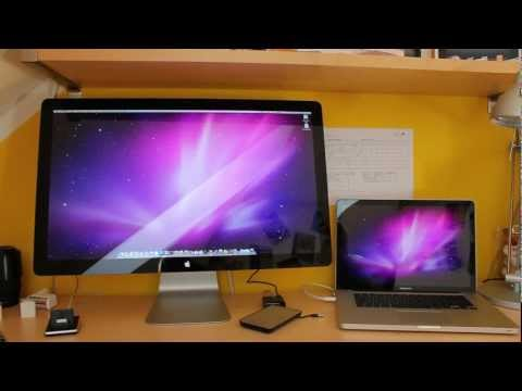 Thunderbolt Display Review [German]