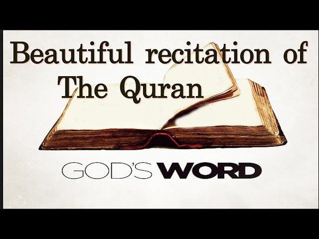 Beautiful recitation of God's word the Quran by a little girl