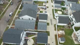 drone footage over monroe mi