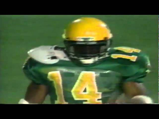 Oregon RB Ricky Whittle 30 yard gain on bubble screen vs. Illinois 9-09-95