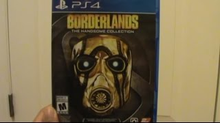 Unboxing (Abriendo) Borderlands The Handsome Collection PS4