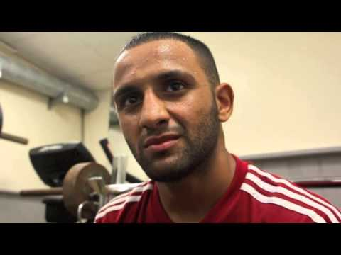 KID GALAHAD TALKS KELL BROOK v SHAWN PORTER / SCOTTS MENSWEAR WITH iFL TV
