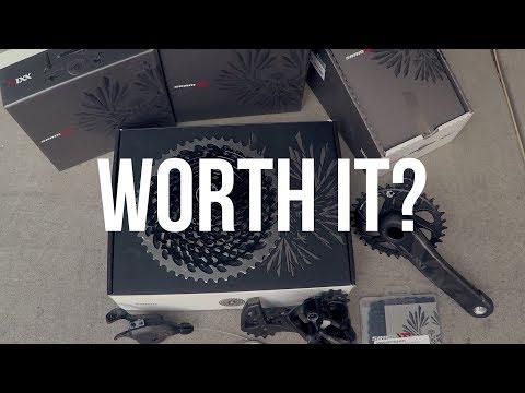 Are high end MTB drivetrains worth it?   SRAM XX1