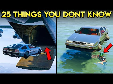 25 THINGS YOU MAY NOT KNOW ABOUT THE DOOMSDAY HEIST DLC IN GTA ONLINE