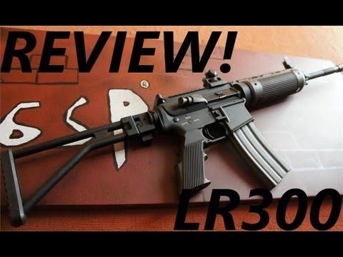 A&K LR300 Softair Review [GsP Airsoft] German