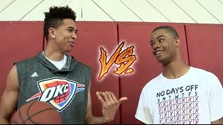 3 POINT CHALLENGE vs. #1 RANKED HIGHSCHOOL SG! ft. Cassius Stanley