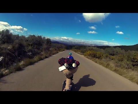 Downhill Skateboarding Raw Run @Salza: Oriol and Aleix