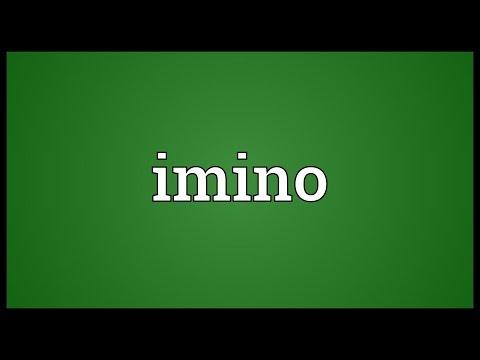 Header of imino