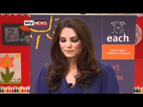 Kate Gives First Royal Speech