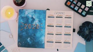 My 2020 Bullet Journal SetUp