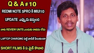 Question and Answer session #10 |  Telugu Tech Tuts