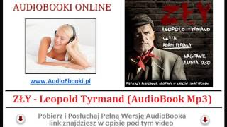 ZŁY - Leopold Tyrmand (AudioBook Mp3) - czyta Adam Ferency AudioBook Mp3 -