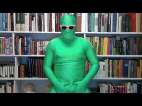 Green morphsuit gif