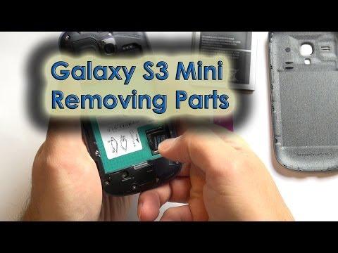 Galaxy S3 Mini - Remove Cover/Battery/SIM/Micro-SD