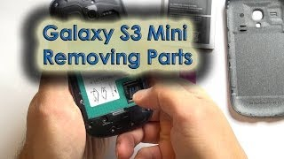 Galaxy S3 Mini - Remove Cover/Battery/SIM/Micro-SD