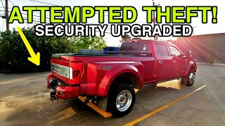 Almost stolen!  Steps I took to better protect against theft! InfiniteRule Security!