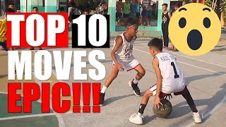 Hype Streetball - Top 10 Moves in May 2019