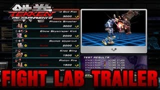 Tekken Tag Tournament 2 - PS3 / X360 - Fight Lab Trailer