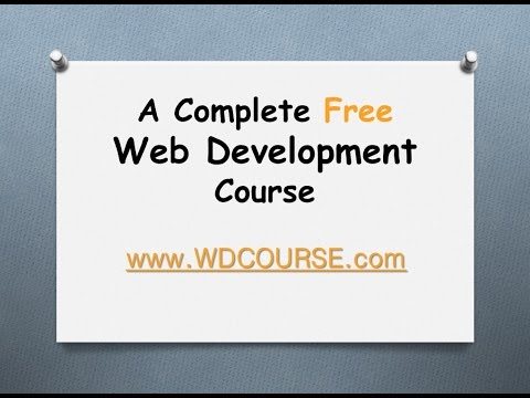 Free Web Development Course 2015 -Section 02 - 09 Self Closing Tags - Environment