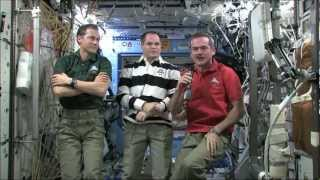 Chris Hadfield on how the body adapts to weightlessness