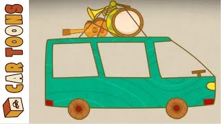 Car Toons: Full Episodes. Trucks & Cars for Kids