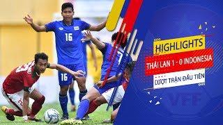 Đồng đội Xuân Trường lập cú đúp, U23 Thái Lan dễ dàng hạ gục U23 Indonesia   VFF Channel
