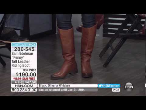 "Sam Edelman ""Penny"" Tall Leather Riding Boot"