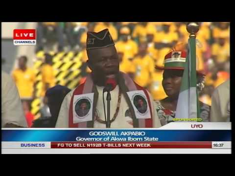 PDP Presidential Rally Uyo Part 7 - Little Girl Wows With Her Voice