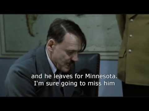 Hitler reacts to Greg Jennings signing with the Vikings.