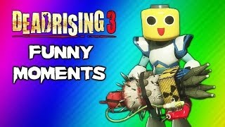 Dead Rising 3 Funny Moments Gameplay 8  Massive Bomb Nuke Mega Man Suit Final Boss Ending Fight