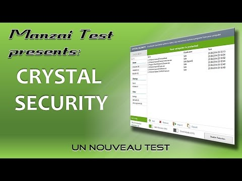 [Test Musical] Crystal Security BETA (Re-Test)